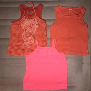 Girls tank top bundle